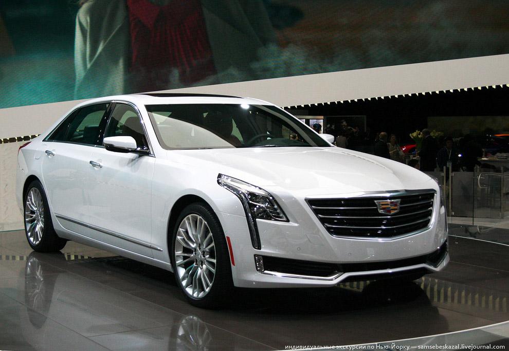 Новый Cadillac CT6