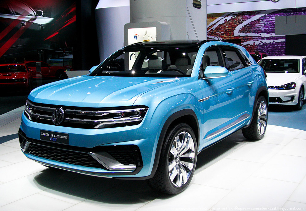 Volkswagen Cross Coupe GTE