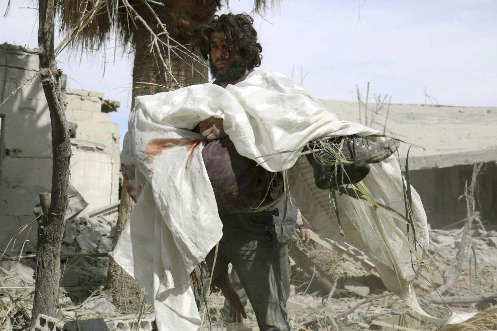 Мать погибла. Дамаск