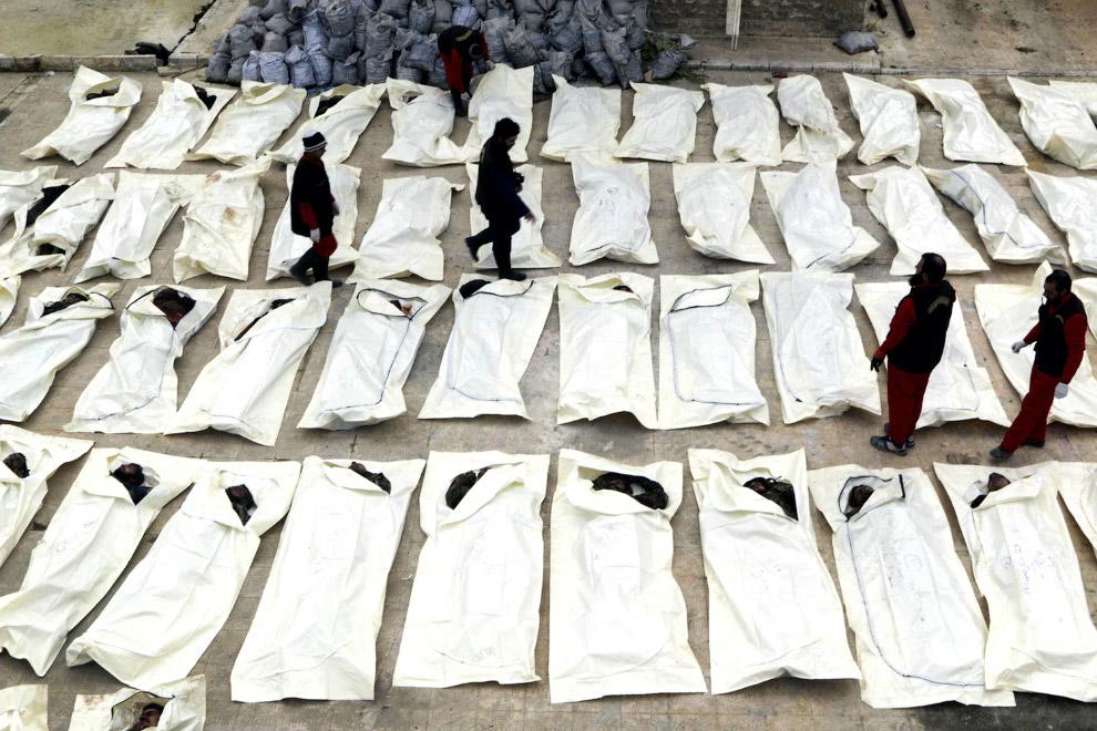 Пересчет погибших, Алеппо