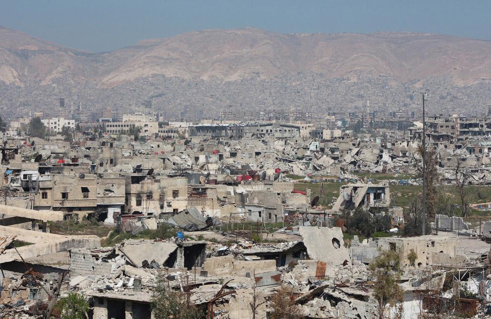 Пригород Дамаска или то, что он него осталось