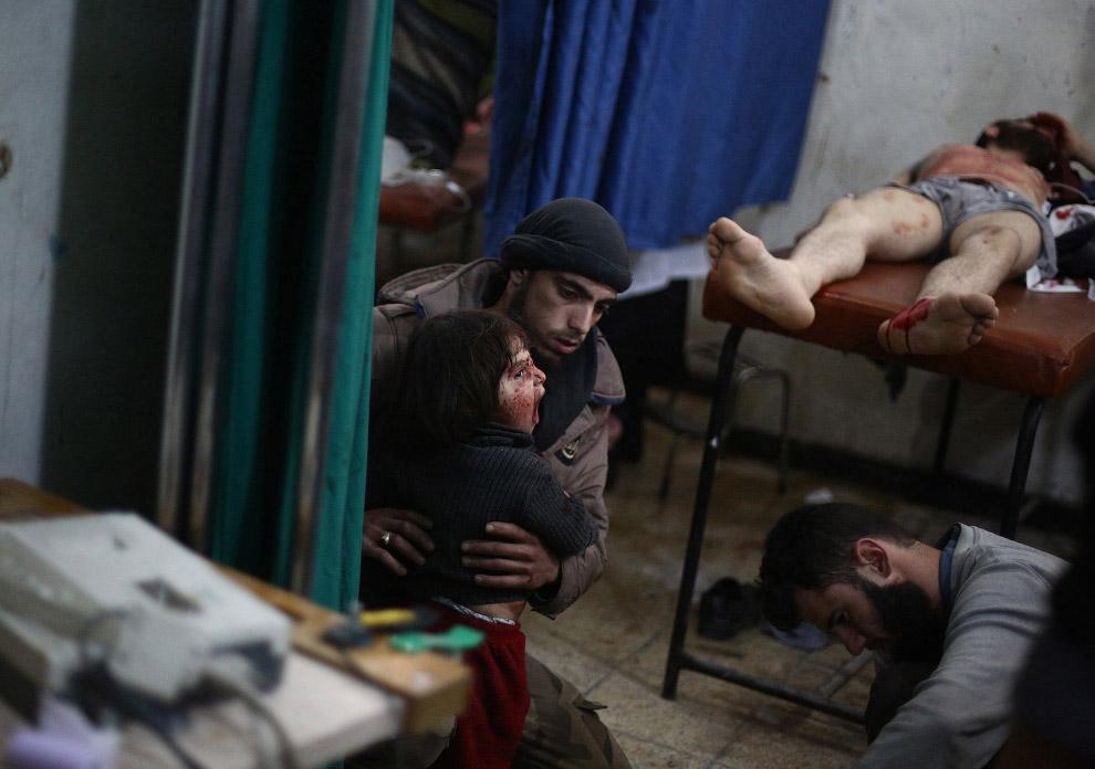 В больнице к востоку от столицы Дамаска