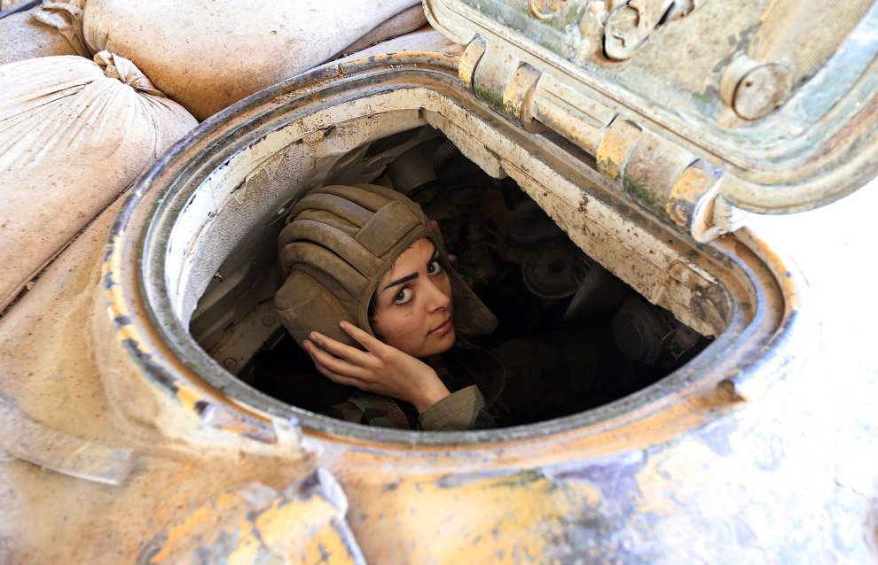 Солдат. Восточная часть Дамаска