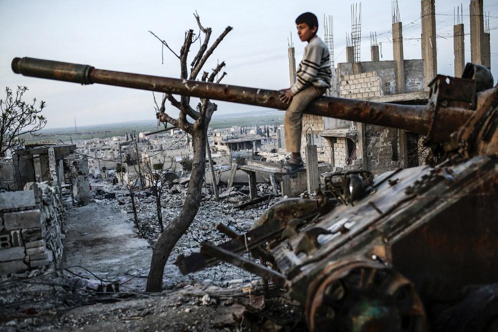 Пейзажи города Кобани