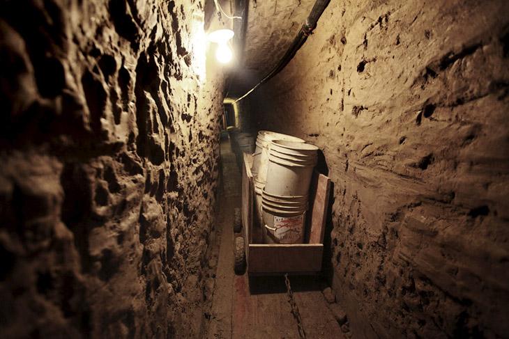 Подземные тоннели наркобаронов