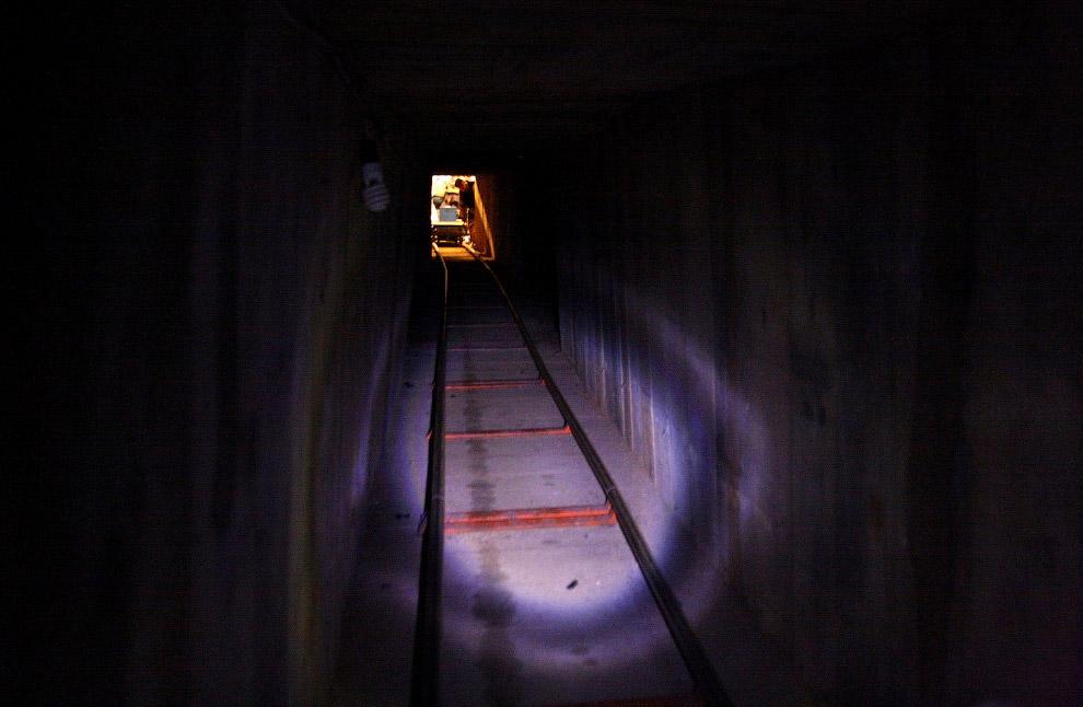 Еще один тоннель с железной дорогой для удобной переброски марихуаны в США