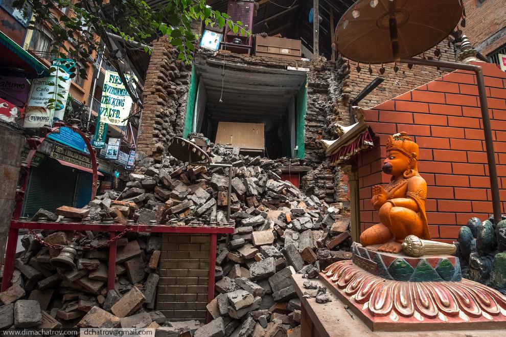 Трагедия в Непале: репортаж с места событий