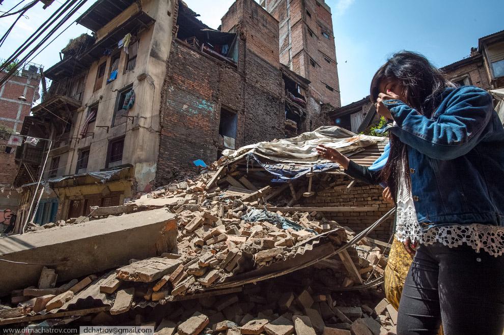 Исторический центр Катманду. На подходе к Дурбару
