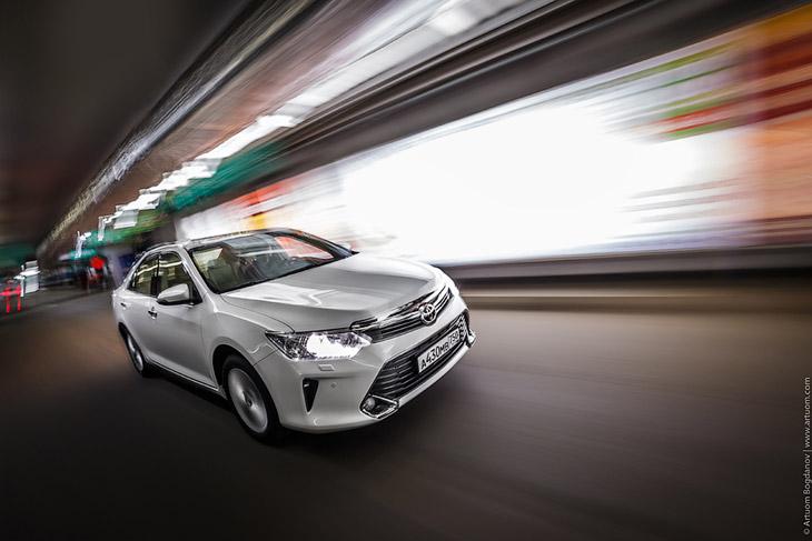 Как снимают рекламу автомобилей