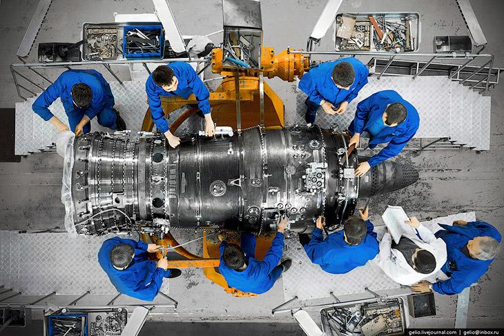 Производство авиадвигателей в России