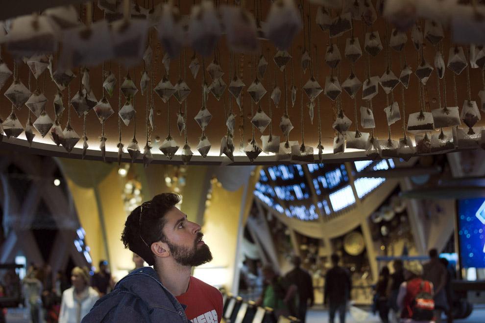 """Внутри французского павильона на выставке """"ЭКСПО-2015"""""""