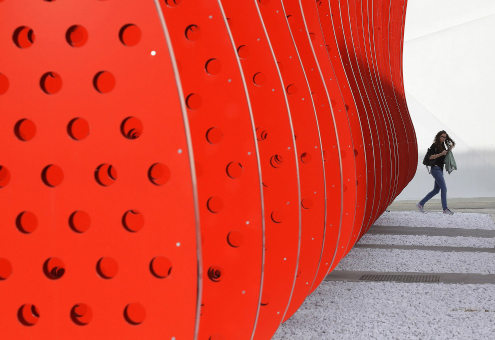 Кока-Кола не поскупилась и сделала себе отдельный павильон на выставке «ЭКСПО-2015»