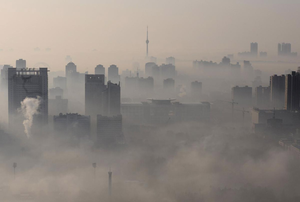 Города в облаках