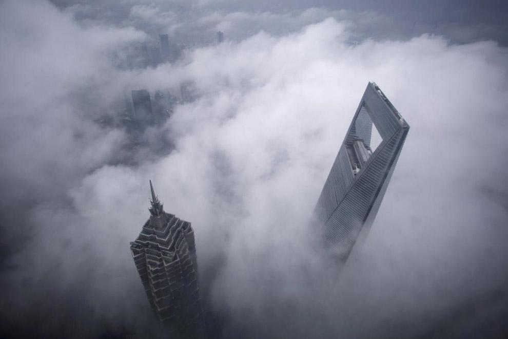 Небоскребы в Шанхае, Китай