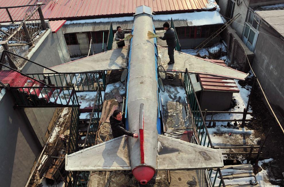 Этот 5-метровый самолет фермер делал 2 года и потратил на него около 6 350 долларов