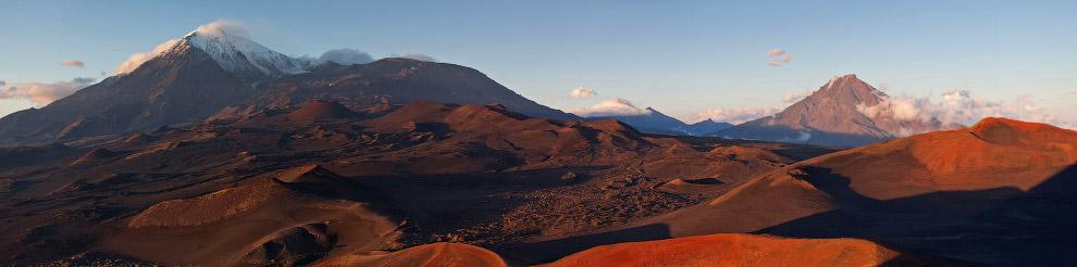 Словно на Марсе чувствуешь себя, когда попадаешь на плато вулкана Толбачик