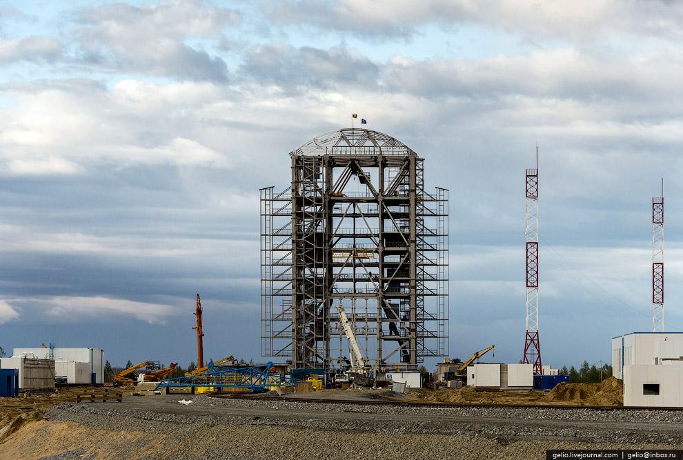 Стартовый комплекс РКН «Союз-2»