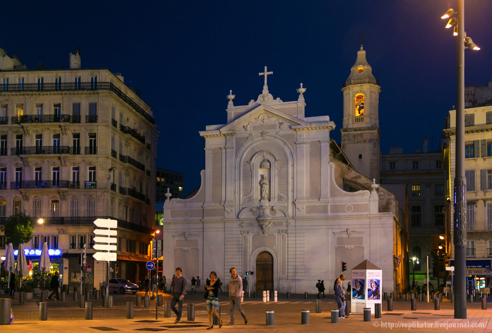 Церковь августинцев (Сен-Ферреоль)