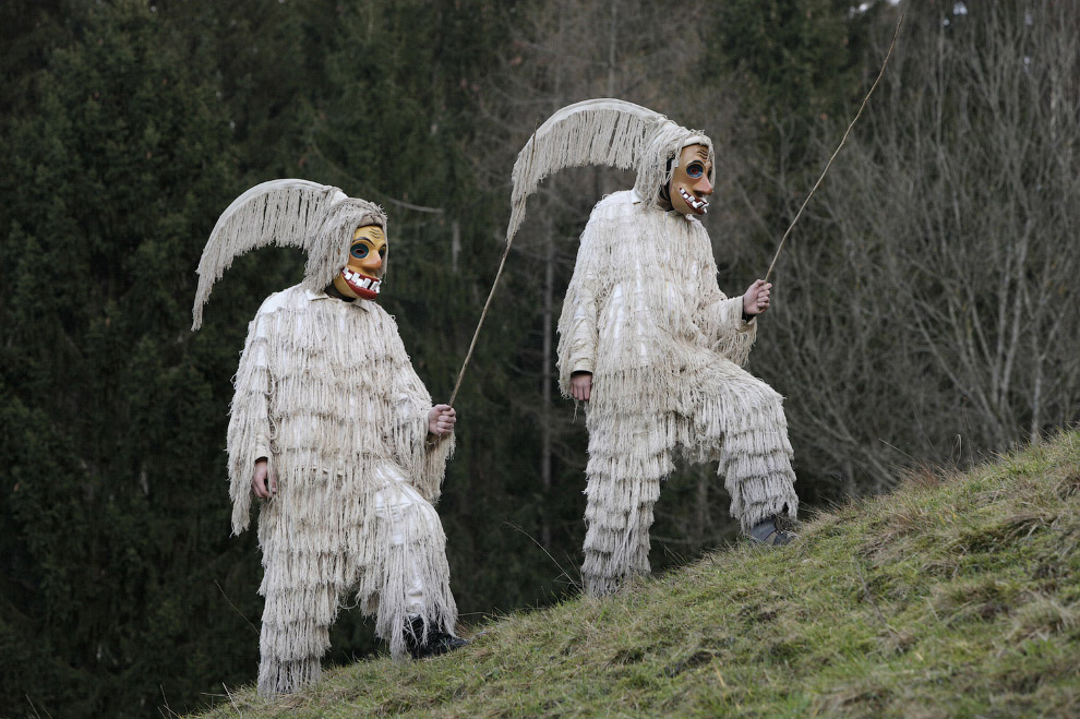 Карнавал в Церкно, Словения