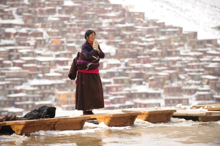 Тибетский монастырь Седа