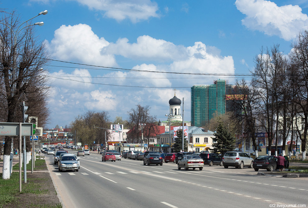 Улица Жукова. Центр