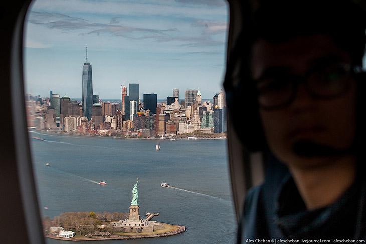 Увидеть Нью-Йорк с вертолета