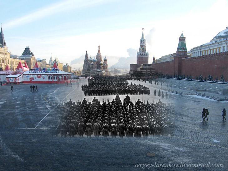 Парад 07 ноября 1941 года