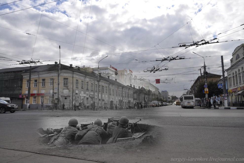 Истребители танков в окопе