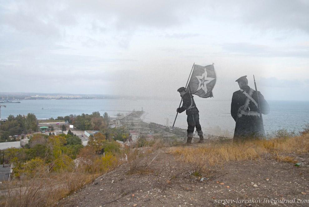 Флаг на горе Митридат
