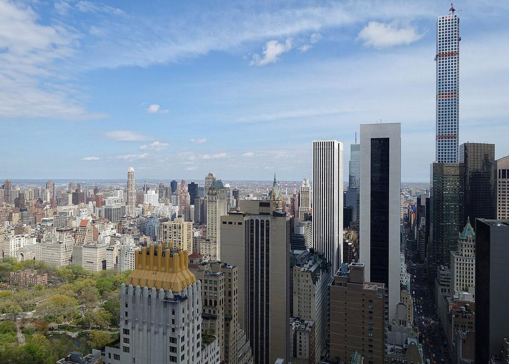 Вид на восточную сторону Манхэттена