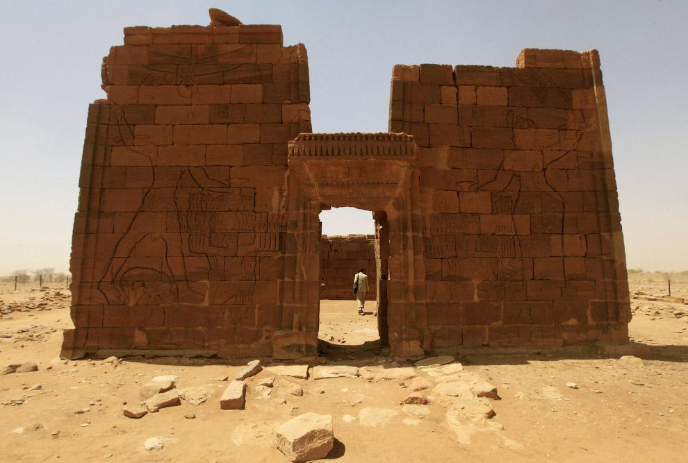 Храм Бога-льва Апедемака