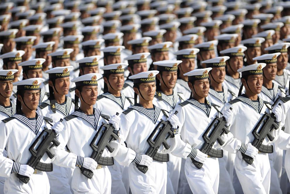 Отважные китайские моряки, Пекин