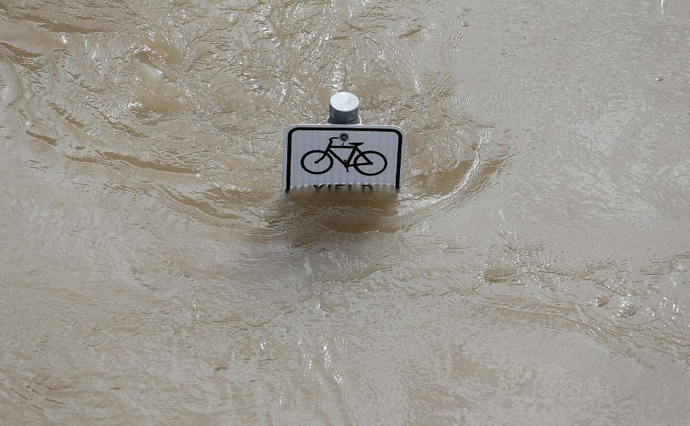 Подводная велосипедная дорожка