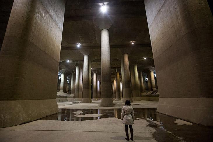 Внешний Подземный Канал Разгрузки территории города с пригородами