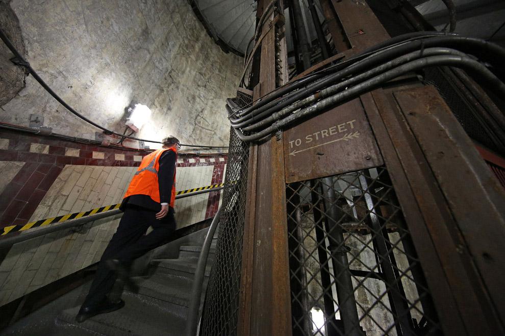В центре Лондона продается подземная станция-«призрак»