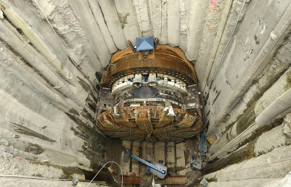 тоннелепроходческий щит