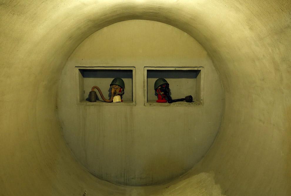 Так выглядит тайный подземный бункер лидера итальянского фашизма Бенито Муссолини