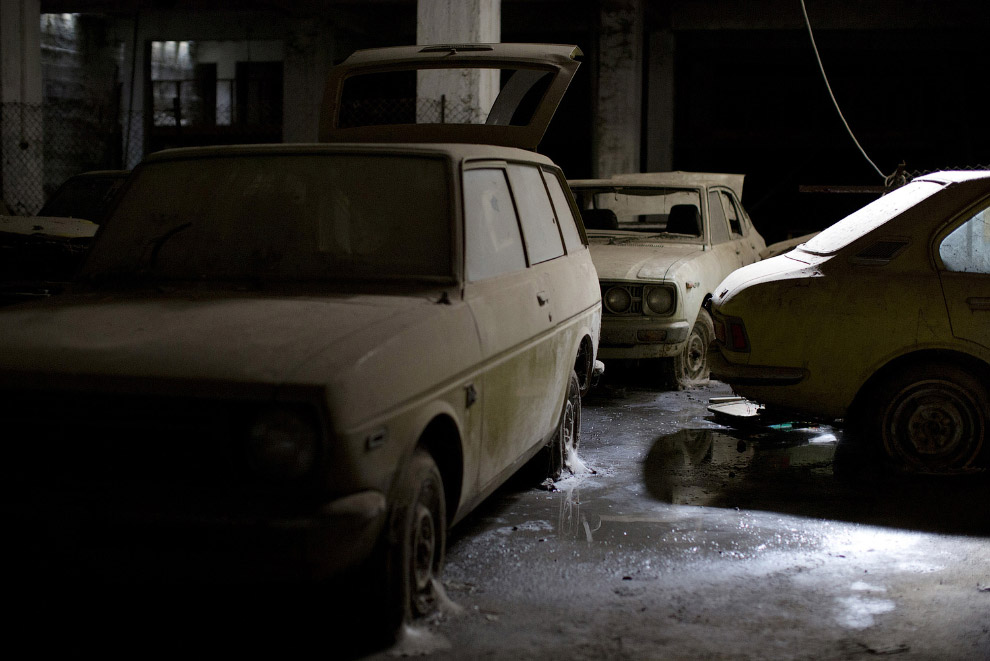 заброшенная подземная парковка