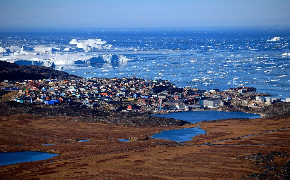 Пейзажи Гренландии