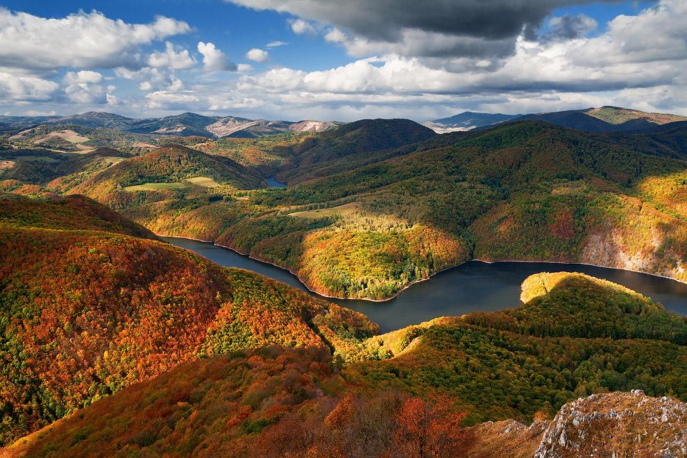 Осень в Словакии