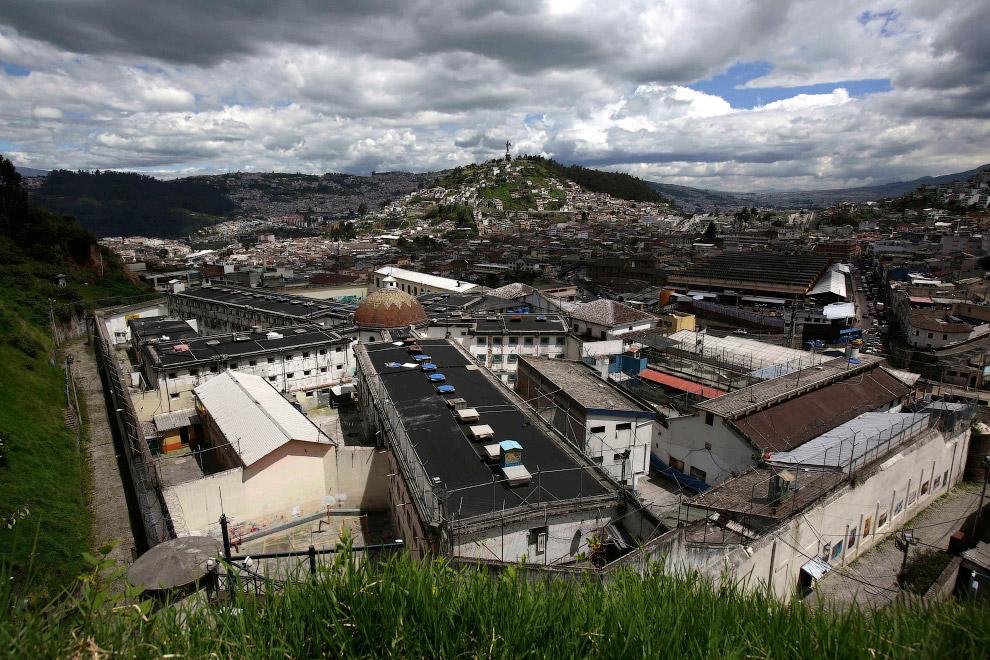 Общий вид на тюрьму «Гарсиа Морено»