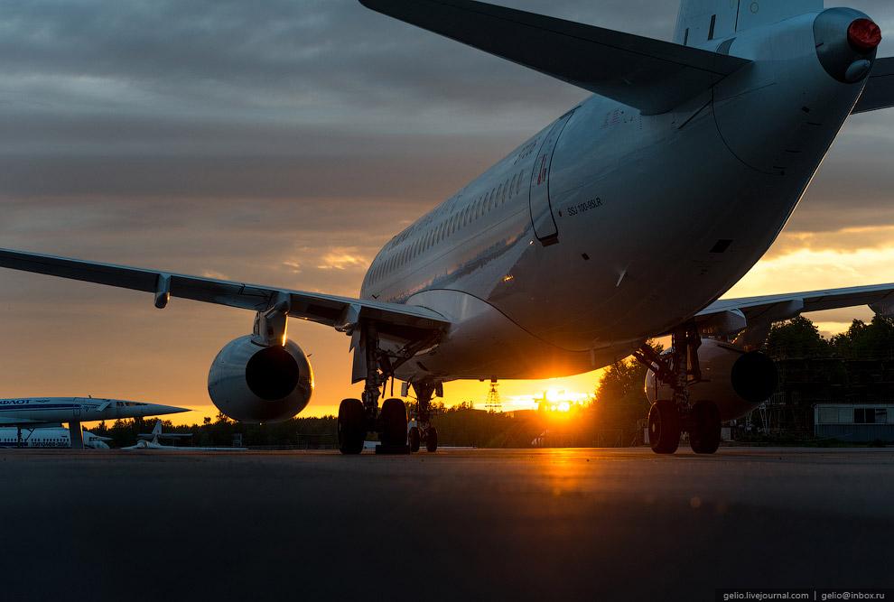 SSJ100 На фоне легендарного Ту-144