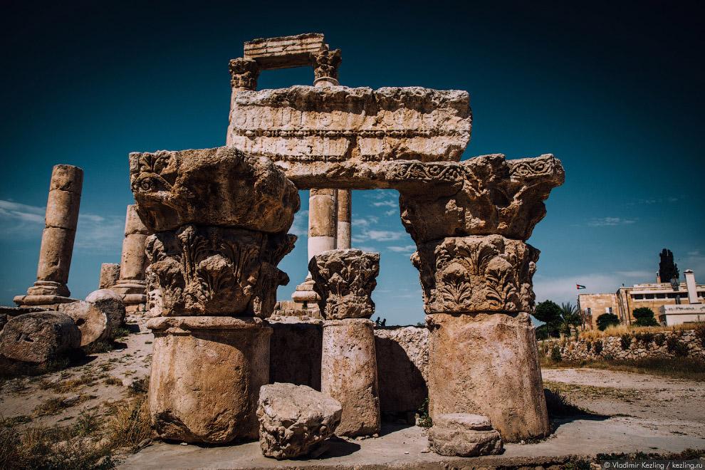руины римского храма Геркулеса