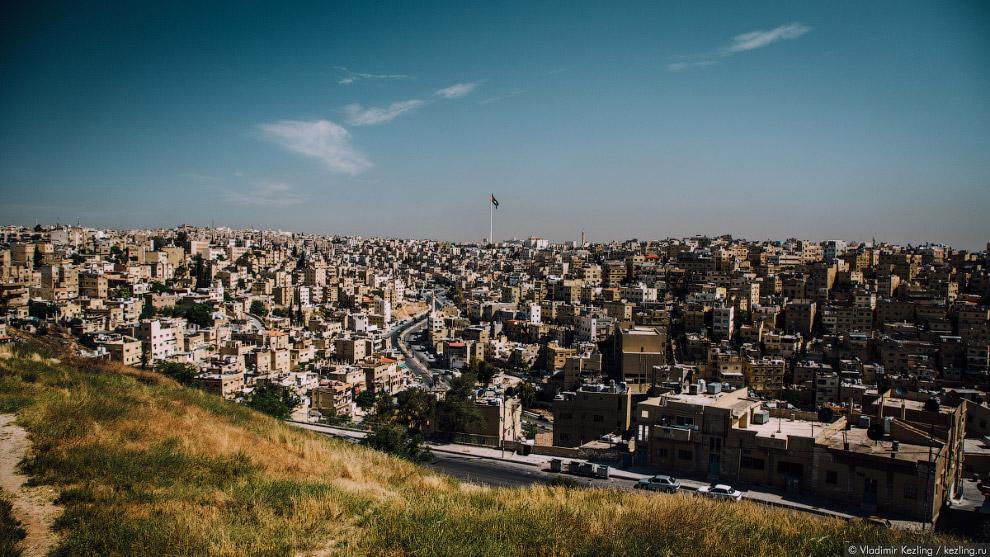 С Цитадели открывается один из лучших видов на Восточный Амман