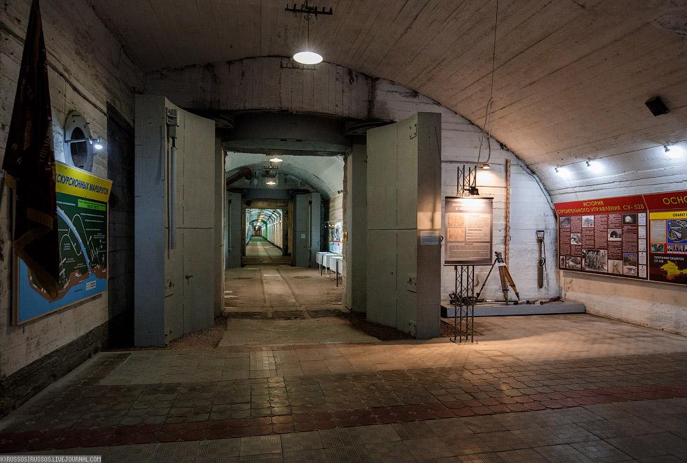 Российская подземная база подводных лодок в Балаклаве