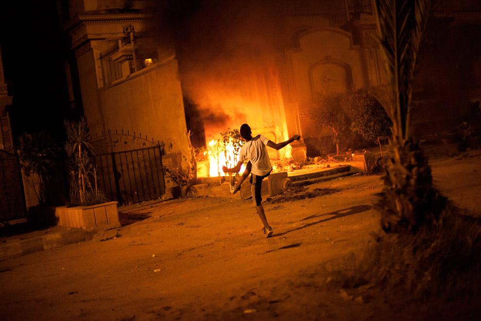 Без огня редко обходятся беспорядки в городах