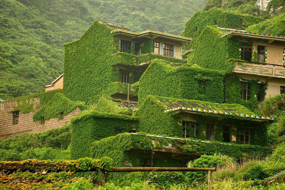 Сказочная деревня в Китае