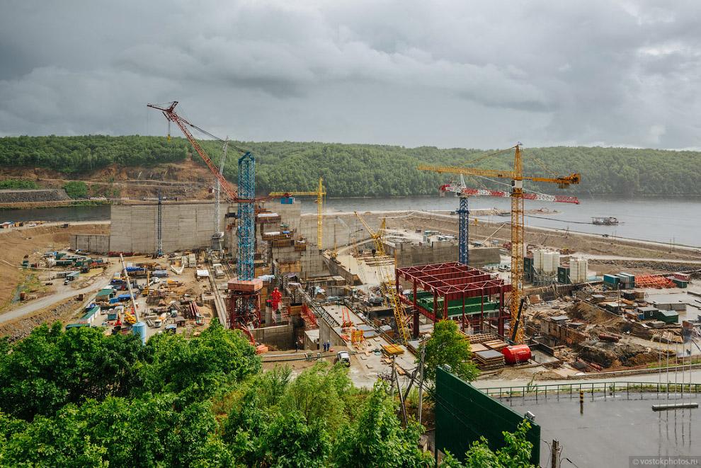 Строительство и запуск Нижне-Бурейской ГЭС