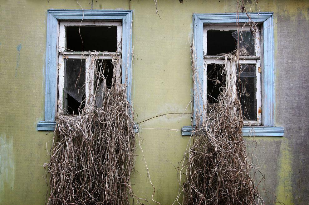 Заброшенные здания в Припяте