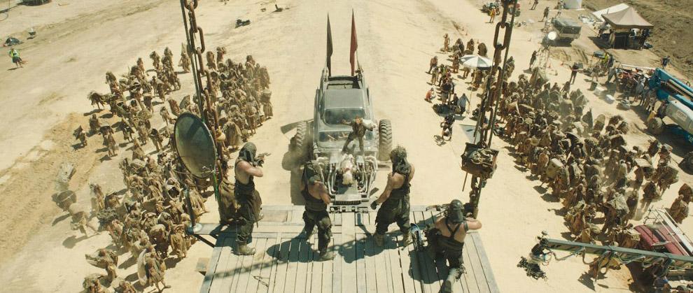 Финальная сцена возвращения Макса в Цитадель